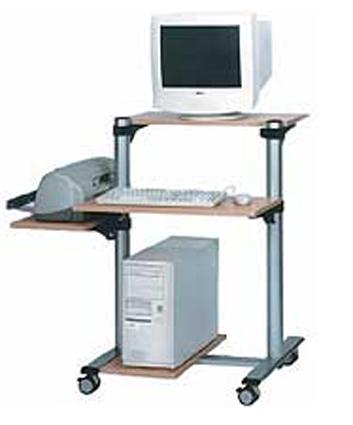 Mehrzweck projektorwagen projekorwagen computerwagen for Mobel computertisch