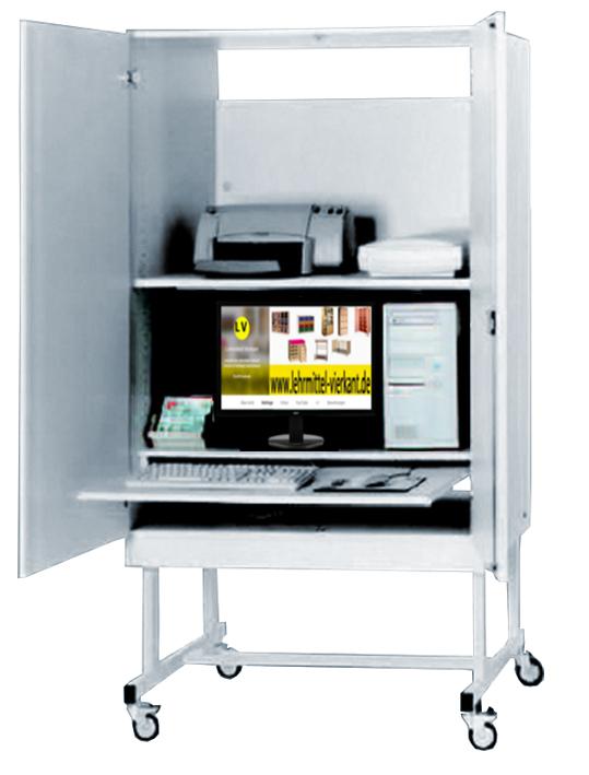 Computerwagen, Computerschrank, Computermöbel, Computerwagen, EDV ...