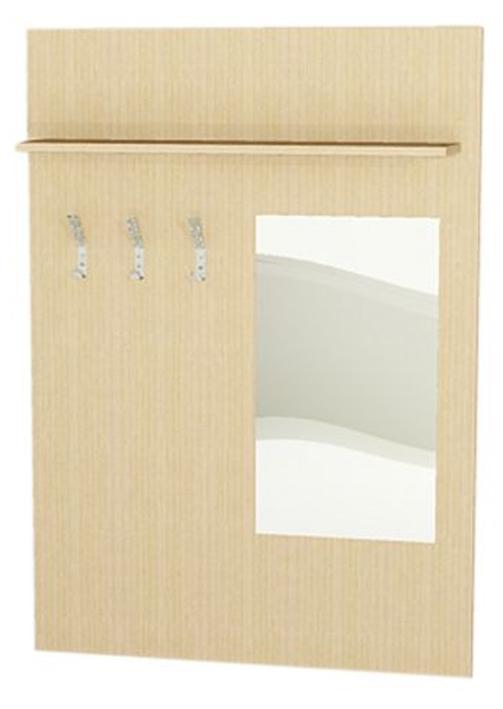 Garderobenpaneel f r bewohnerzimmer garderobenpaneel mit for Garderobenpaneel spiegel