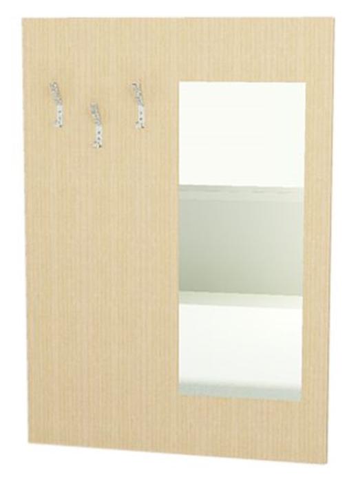 garderobenpaneel f r bewohnerzimmer garderobenpaneel mit spiegel garderobenpaneel mit. Black Bedroom Furniture Sets. Home Design Ideas