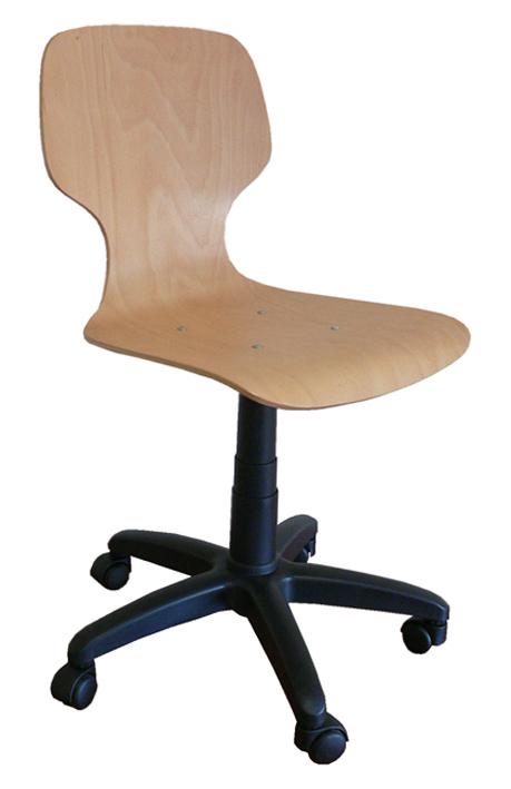 drehstuhl drehspindel mit sitzschale und rollen arbeitsstuhl st hle drehspindelstuhl stuhl. Black Bedroom Furniture Sets. Home Design Ideas