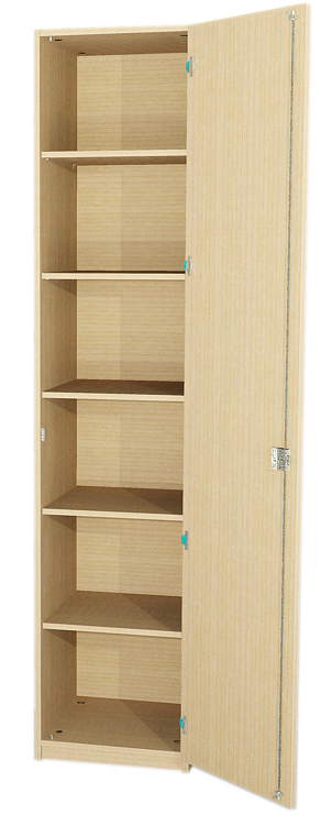 schrank eint rig 5 einlegeb den hxbxt 230x60x40 cm schrank sch nke hochschranke schrankwand. Black Bedroom Furniture Sets. Home Design Ideas