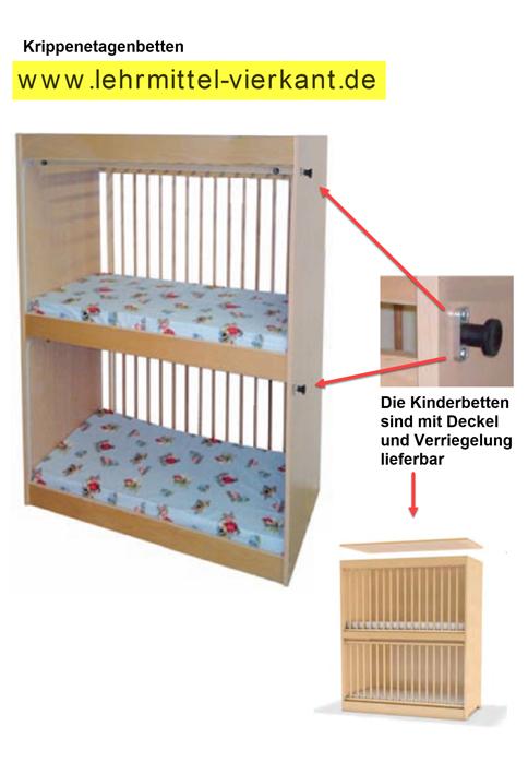 Krippen-Etagenbett, Etagenbetten für Kinderkrippen, Krippenbett ...