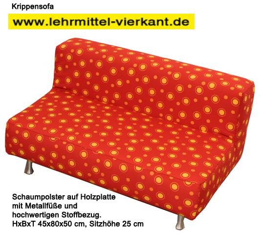 krippensofa sofa f r kindergarten kindersofa sitzgarnitur f r kinder kindergartenm bel sofa. Black Bedroom Furniture Sets. Home Design Ideas
