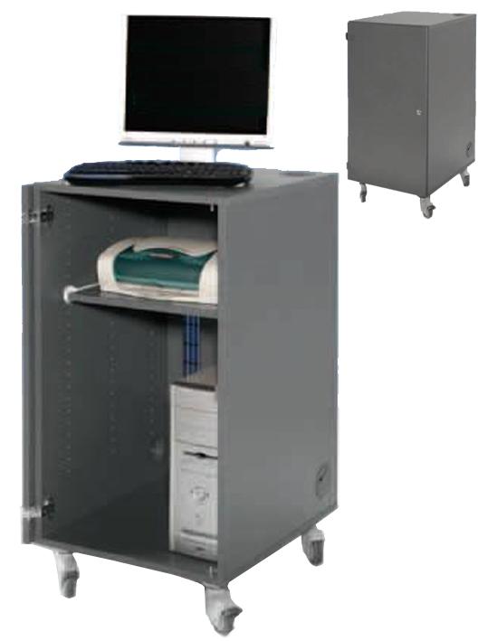 mediawagen pc arbeitstisch fahrbar mobiler computertisch computertische auf rollen pc. Black Bedroom Furniture Sets. Home Design Ideas
