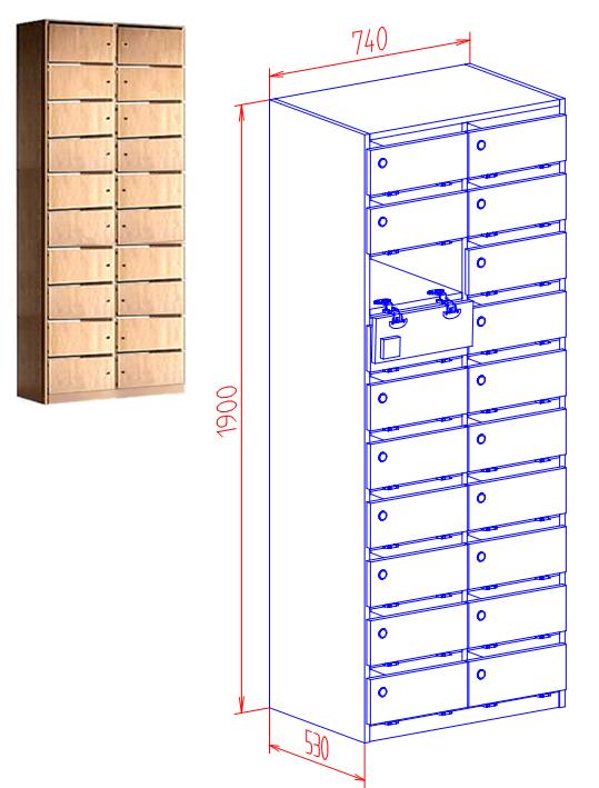 postverteilschrank kaufen postfachschrank schrank mit briefschlitzfach schr nke mit. Black Bedroom Furniture Sets. Home Design Ideas