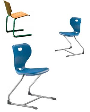 schulst hle sitzschalenst hle sitzschalenstuhl schulstuhl schalenst hle freischwinger. Black Bedroom Furniture Sets. Home Design Ideas