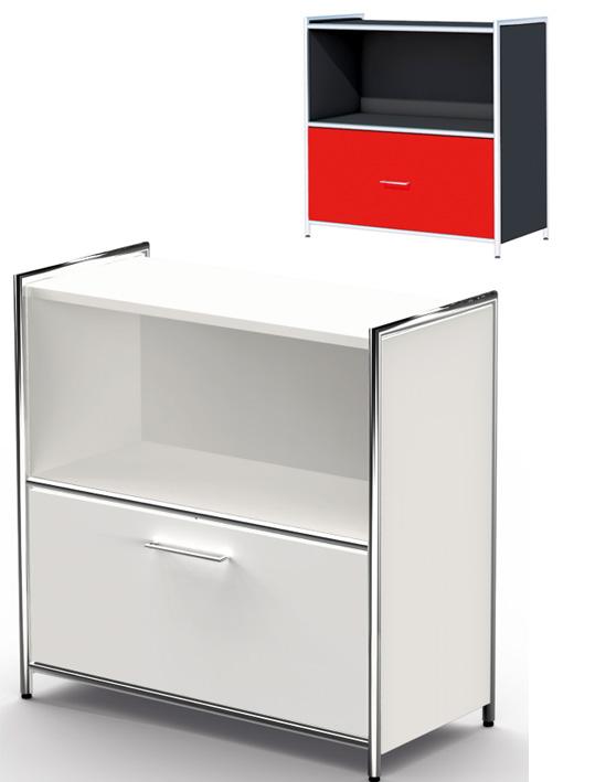 Büro Sideboard, Büromöbel kaufen, Sideboad mit Schubladen, Büromöbel ...
