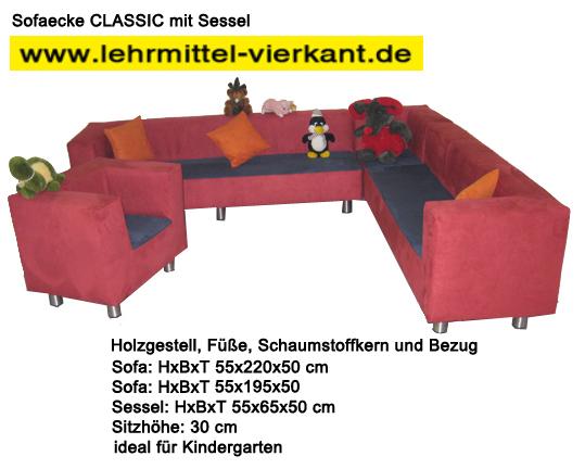 Sofa Sessel Sitzgarnitur Fur Kindergarten Kindergartenmobel