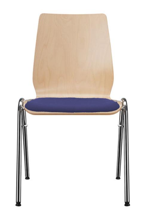 Stuhl auditorium besucherstuhl cafeteriabestuhlung for Stuhl holzschale
