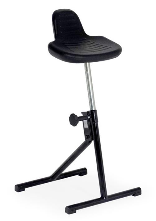 Stehhilfe Klappbar.Stehhilfe Mit Sattelsitz Aus Pu Schaum Klappbar Sh 56 88cm
