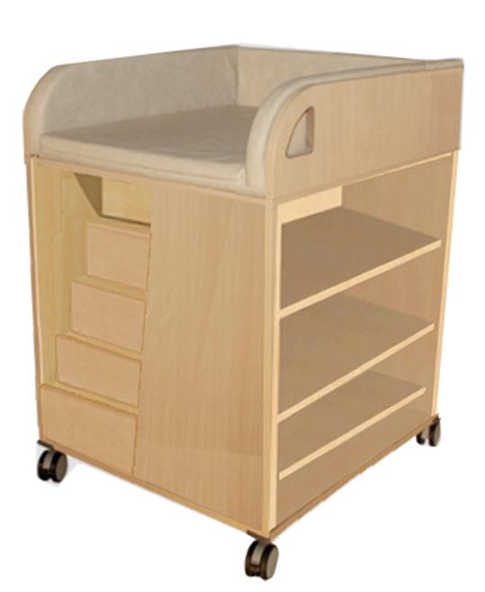 wickelkommode auf rollen rollbare wickelkommode wickelkommode f r kindergarten wickelkommode. Black Bedroom Furniture Sets. Home Design Ideas