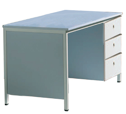 Lehrertisch Mit 3 Schubladen Lehrertische Schultische Schultisch