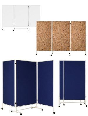 falt raumteiler sichtschutzwand auf rollen sichtschutz auf der messe mobile stellwand f r. Black Bedroom Furniture Sets. Home Design Ideas