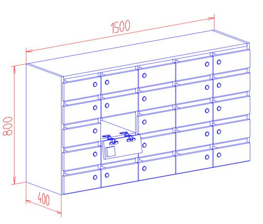 postfachschrank postschrank schr nke mit postf cher postfachschr nke briefschrank. Black Bedroom Furniture Sets. Home Design Ideas