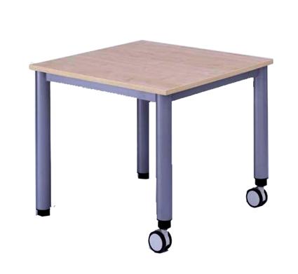 Tisch Fahrbar Quadrattisch Txb 80x80 Cm Mobile Tische Tische Mit