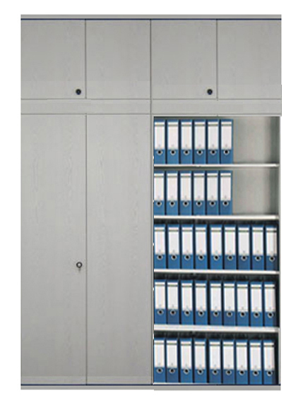 Schrankwandsystem Büroschrank, Aktenschrank, Büroschranksysteme ...