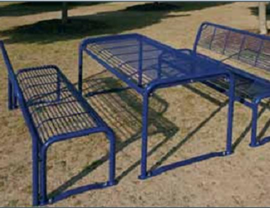Sitzgruppe Außen Sitzbank Außentische Parkbank Sitzbänke Für