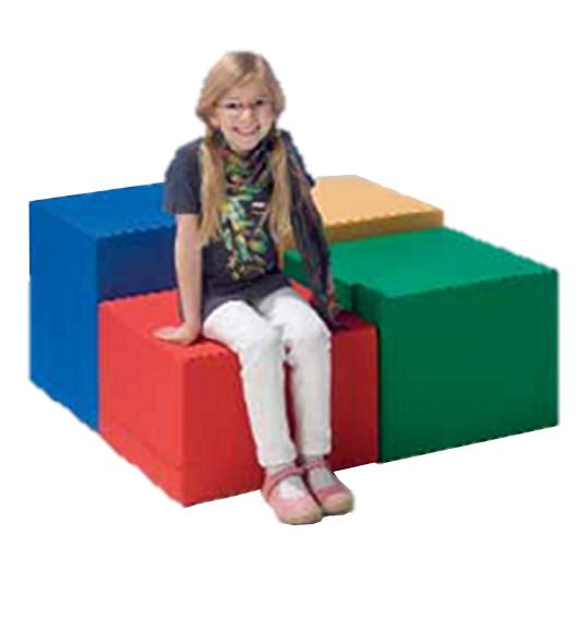 sitzw rfel f r kinder hocker f r spieleecken sitzhocker cube m bel f r leseecke sitzhocker. Black Bedroom Furniture Sets. Home Design Ideas
