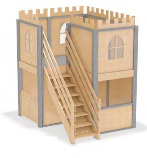 spielhaus f r kindergarten kinderhaus spielhaus f r. Black Bedroom Furniture Sets. Home Design Ideas