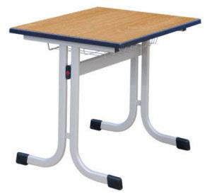 Schultisch mit stuhl  Schultische, Schulmöbel, Kufentische, Ovalrohrtische, Schülertische ...