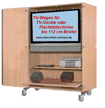 tv wagen displaywagen fernsehwagen bildschirmwagen fernsehschrank flachbildschirmwagen lcd. Black Bedroom Furniture Sets. Home Design Ideas