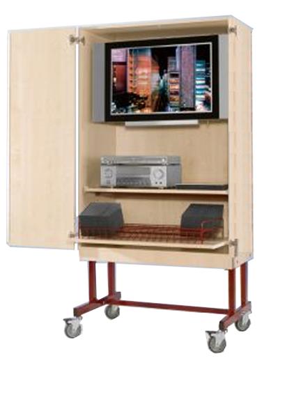 Tv Wagen Mit Flachbildschirmhalterung Tv Schrank