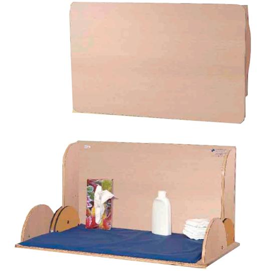 wandwickeltisch wandwickeltische wickelkommoden f r den waschraum klappbare wickeltische. Black Bedroom Furniture Sets. Home Design Ideas